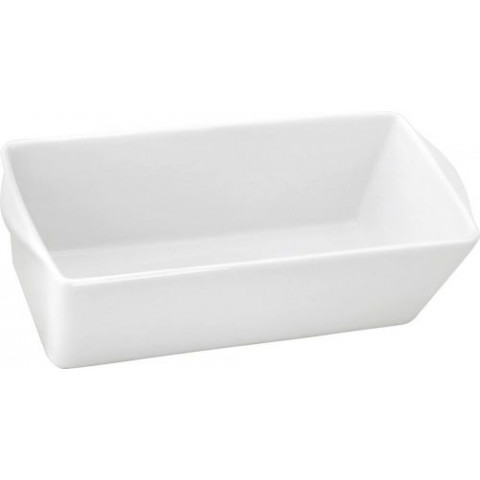 TERRINE RECTANGULAIRE PORCELAINE 125CL