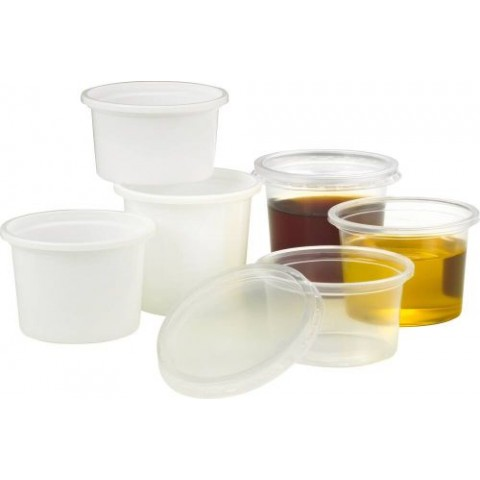 PLASTIPOT TRANSPARENT 10CL /100